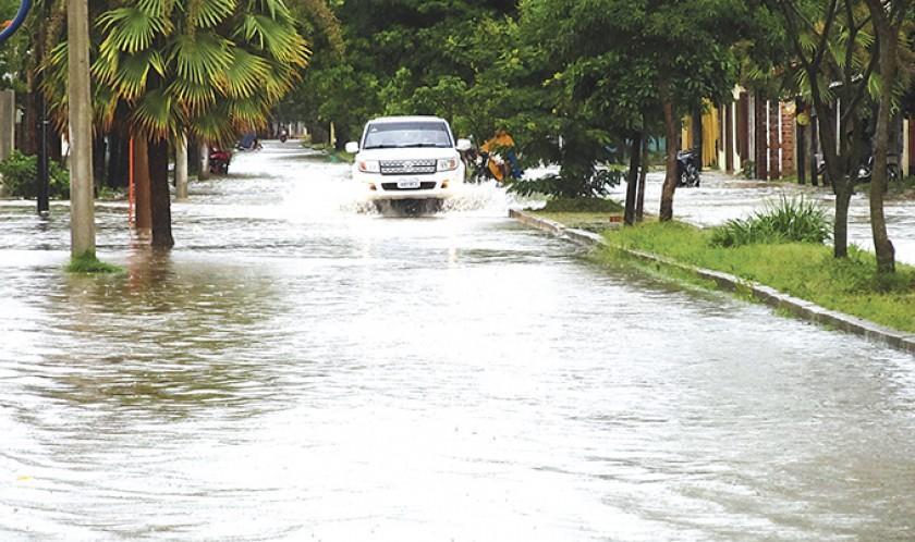Trinidad, otra vez inundada