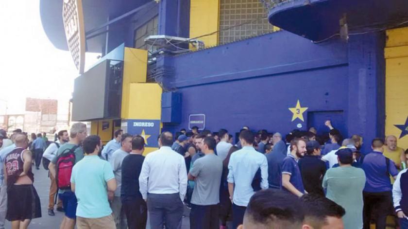 El caos por la venta de entradas.