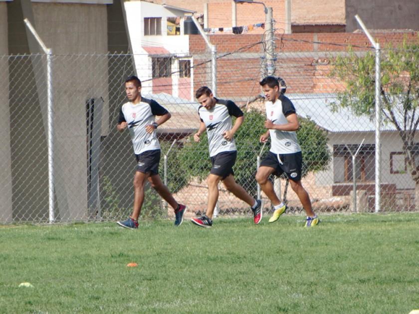 Universitario aumentó la carga de sus entrenamientos aprovechando la fecha FIFA.