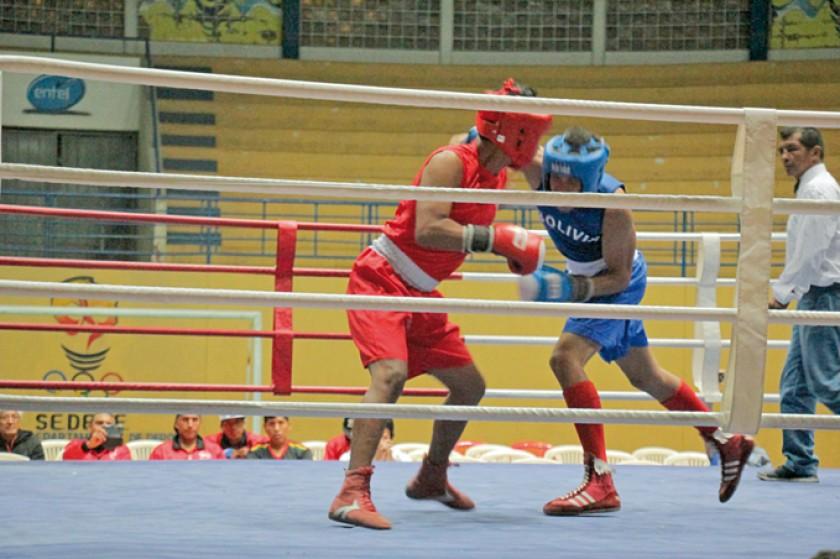 Boxeo reúne a bolivianos