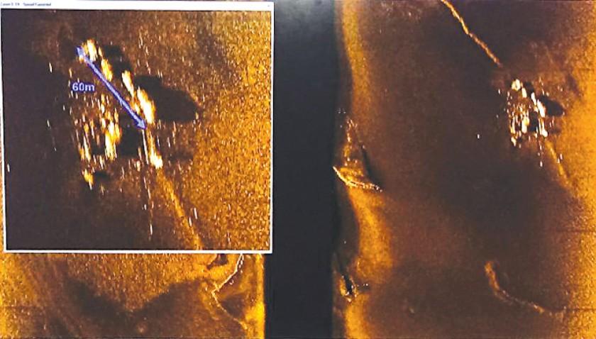 HALLAZGO. Fotografías del submarino ARA San Juan, encontrado ayer en el Atlántico.