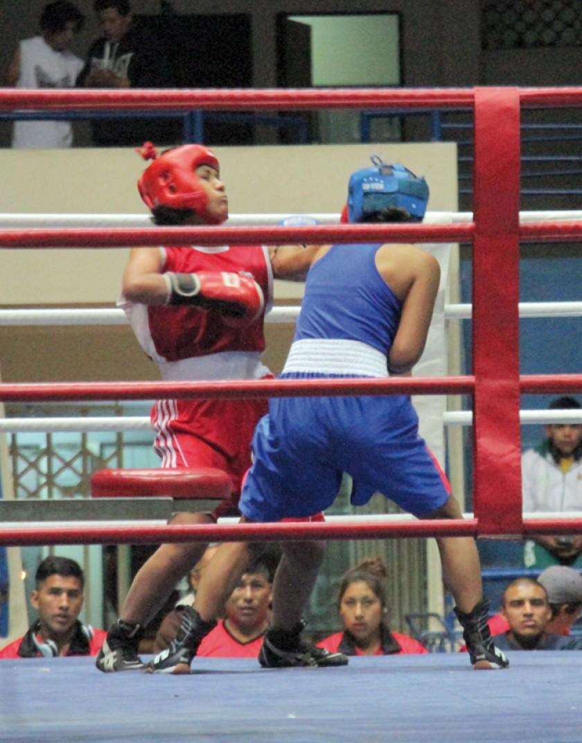 El boxeo y el karate ya realizaron sus primeros evaluativos.