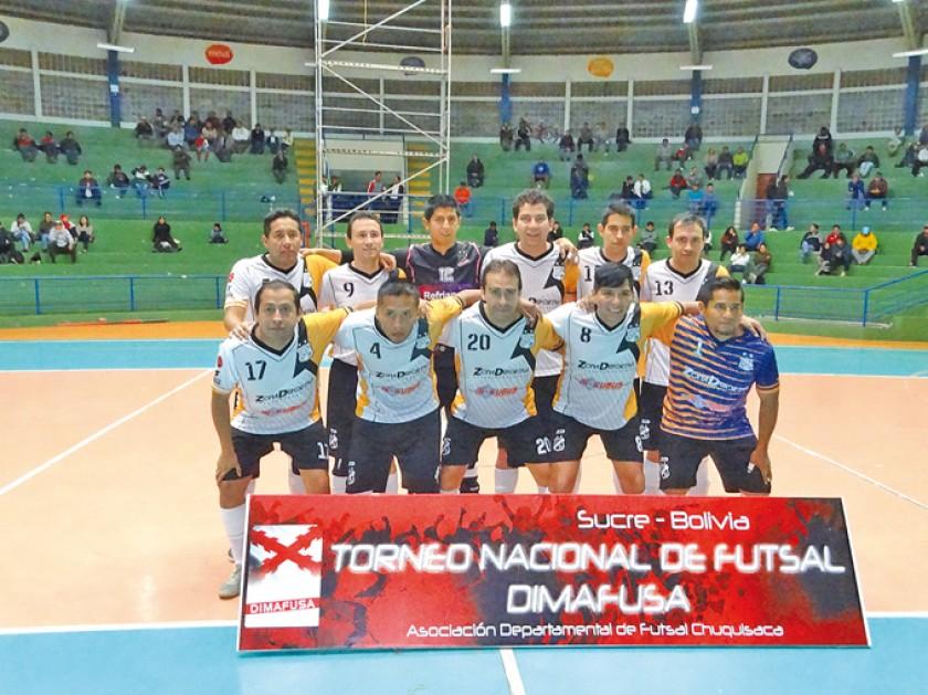 Antofagasta también clasificó a la fase final, hace dos semanas en Sucre.