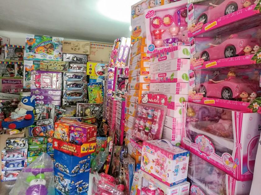 Una imagen de la tienda de juguetes de Teresa Zambrana, que se encuentra en la avenida Jaime Mendoza Nº 2310. capitales