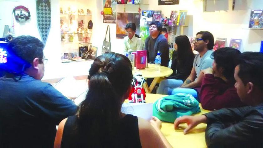 """Breve historia de """"A la par del ocaso: Sesiones de Narrativa y Poesía"""""""