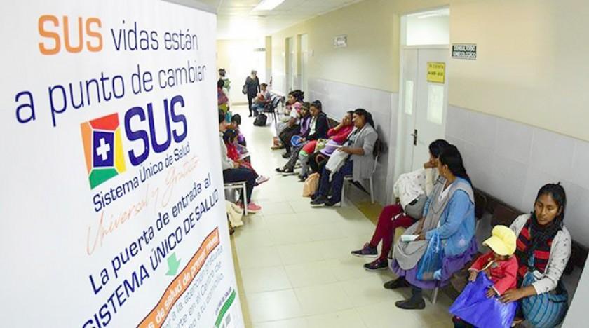 COCHABAMBA. El Ministerio de Salud emprendió una campaña de información en centros públicos de salud.