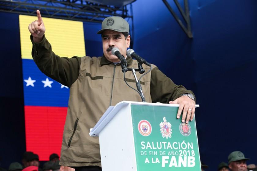PRESIDENTE. Nicolás Maduro será juramentado este jueves para un nuevo mandato de seis años.
