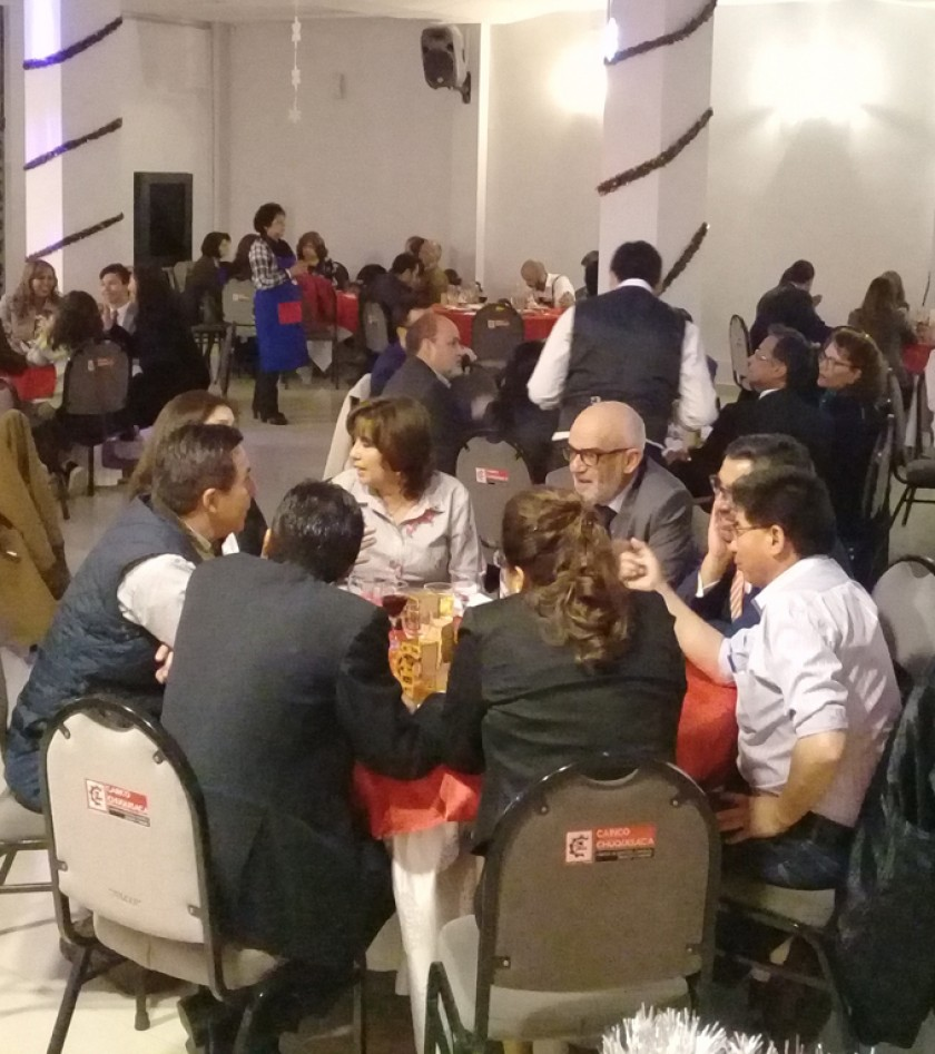 Mesa de Dico Comercializadores a la cabeza de Juan Carlos Sabat