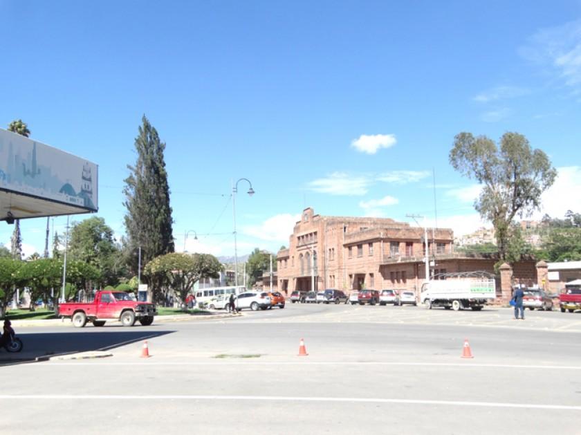 ESPACIO. Por su gran tamaño la plazuela de la ex estación Aniceto Arce es el escenario elegido para todo tipo de activid