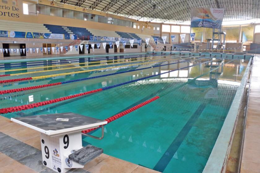 La piscina bolivariana de El Rollo, una de las obras de 2009.