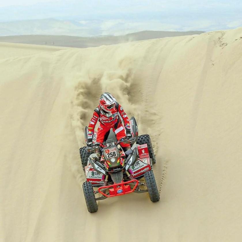 """El """"team Nosiglia"""" esperanza en el rally Dakar tras  la baja del Chavo"""