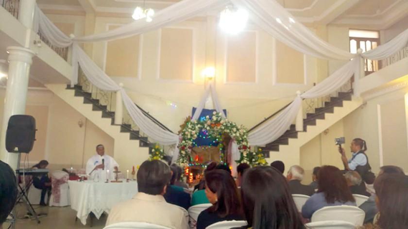 Momento de la misa.