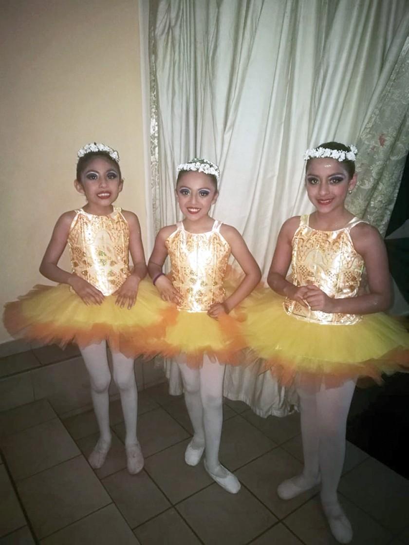 Brenda Betanzos, Antonella Vedia y Valentina Suárez.