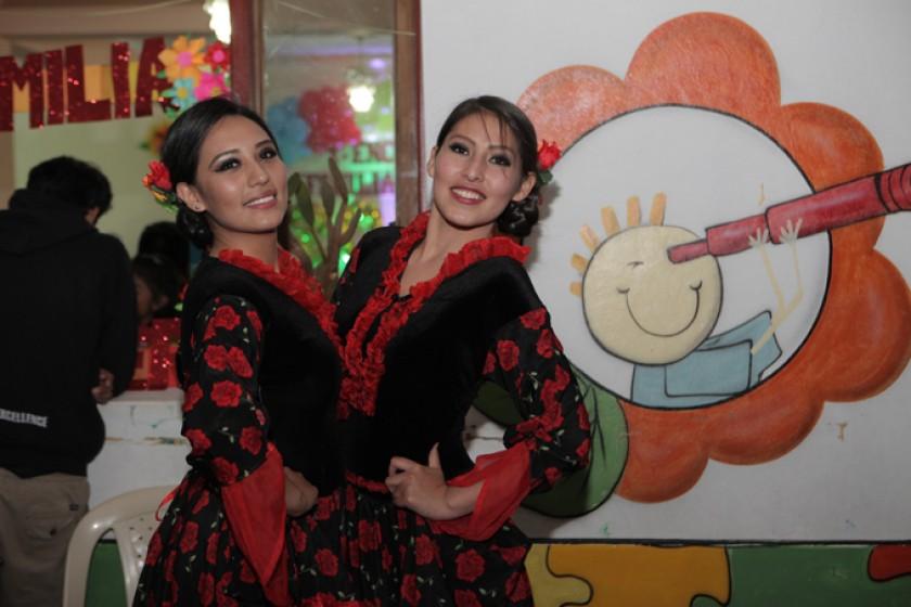 Aydil Rodas Montero y Jhuliana Montero.
