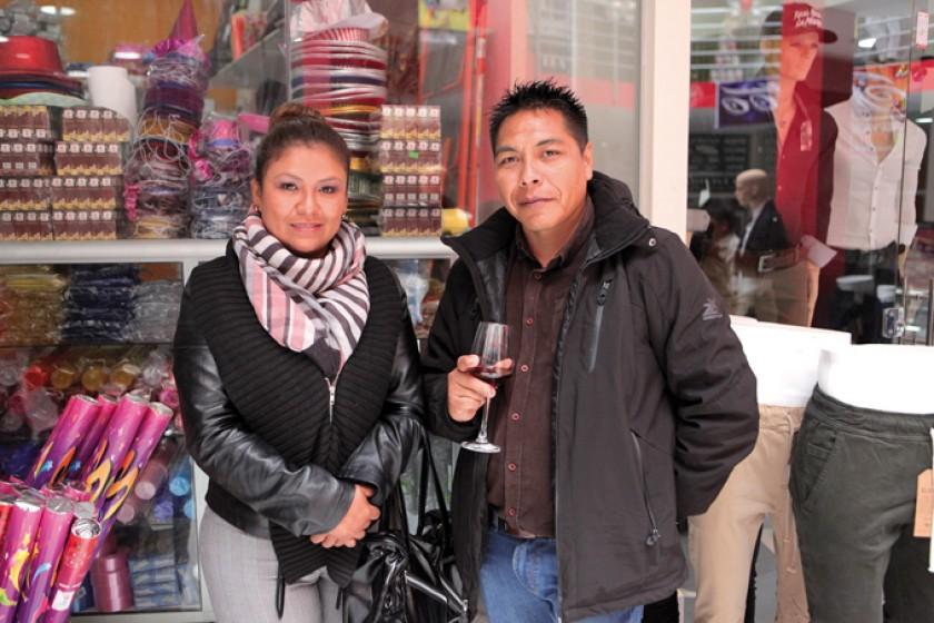 Rose Mary Morales y José Luis Torrico.