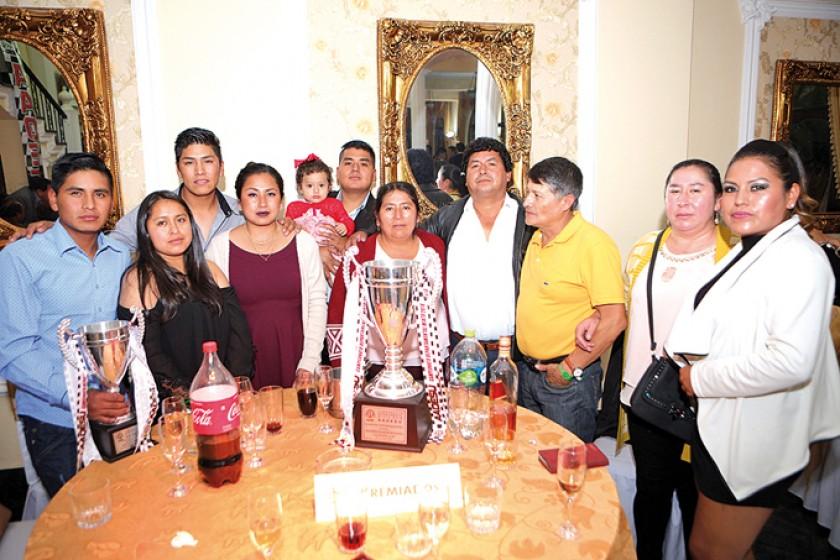 La familia Palacios.