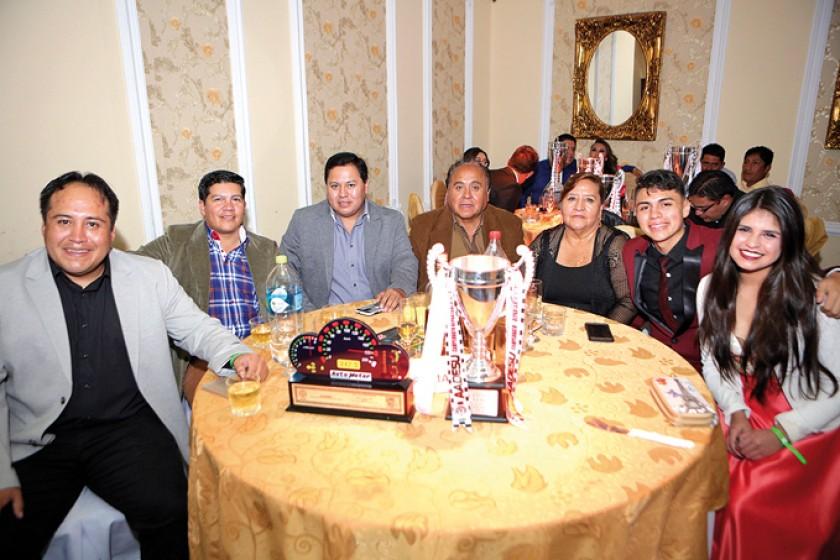 La familia Uribe.
