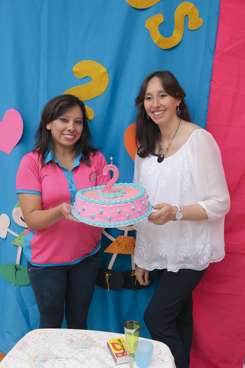 Patricia Vásquez y Verónica Valda.