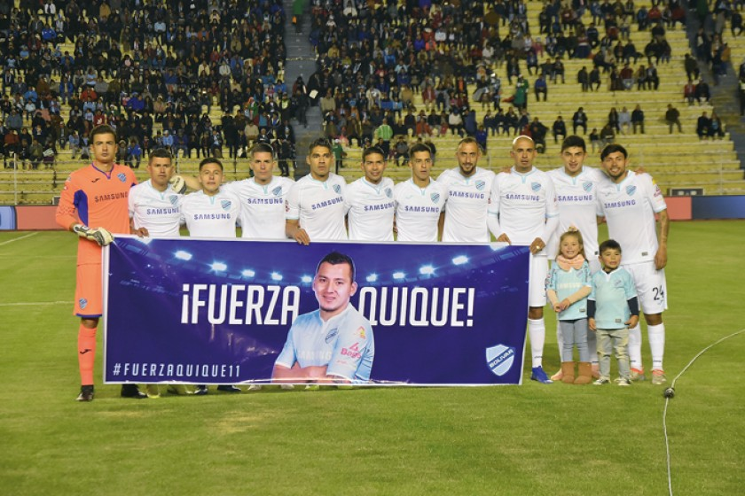 Bolívar recibirá esta tarde a Nacional Potosí en el estadio Hernando Siles.