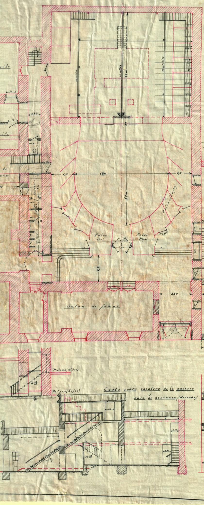 Plano levantado por L. A. Mulder y de Graaff 2.