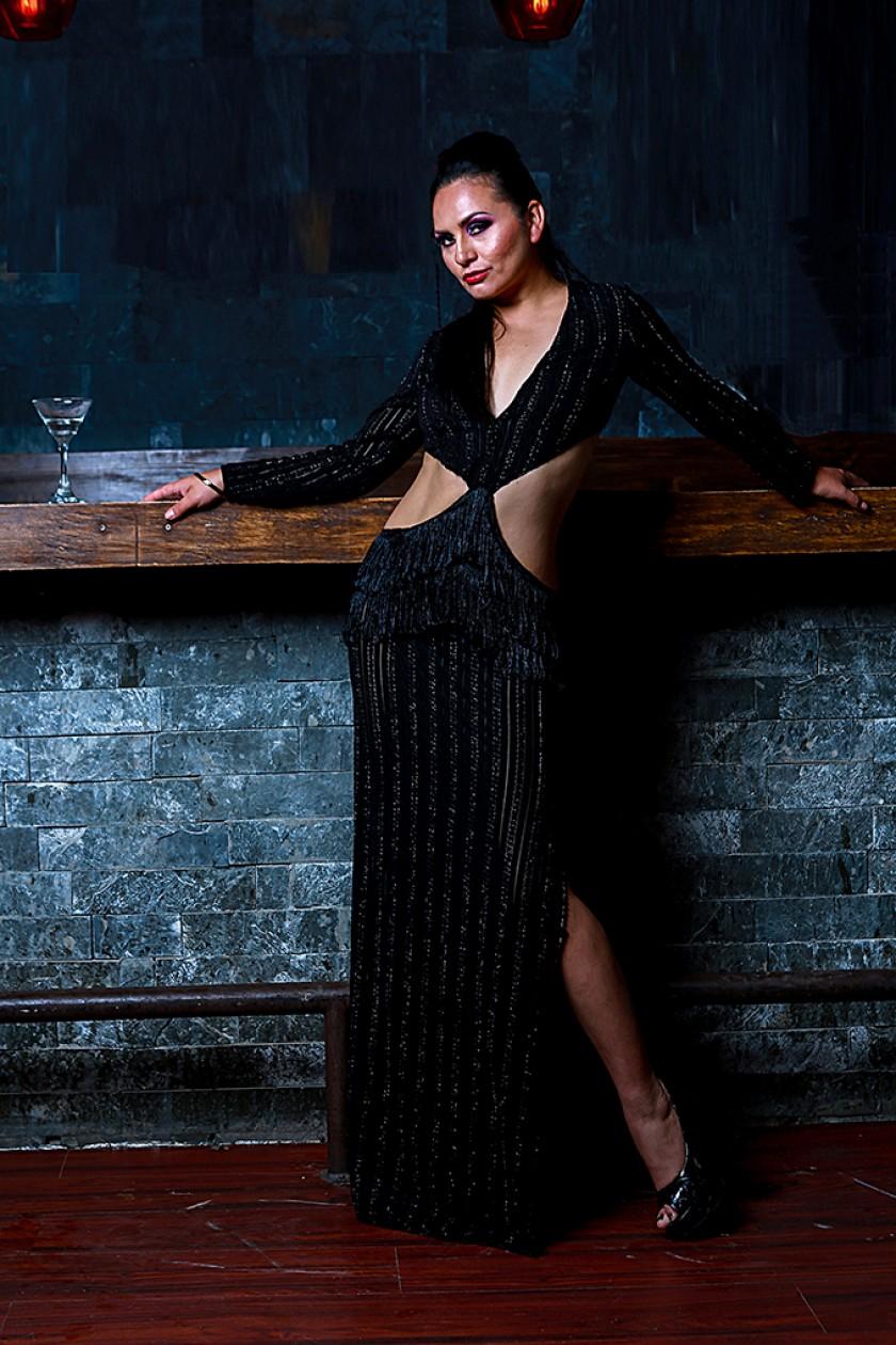 Cinthia Ríos Padilla, gerenta de la agencia Angel Models, directora de la Fundación Sucre Moda y diseñadora de Modas.