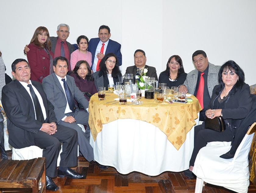 Las familias Pardo, Morales, Gutiérrez, Copa y Villa