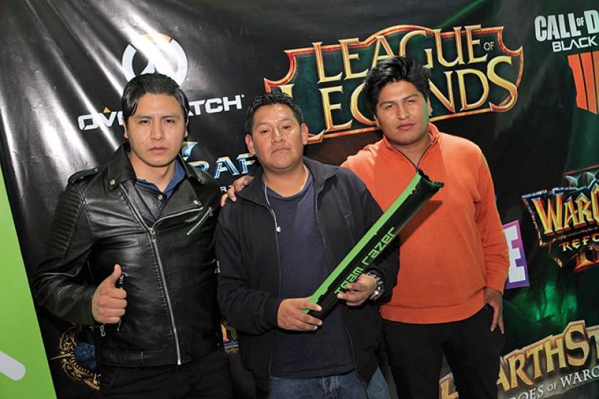 Delegación de La Paz y Oruro.