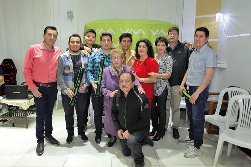 La familia Cuenca – Columba.