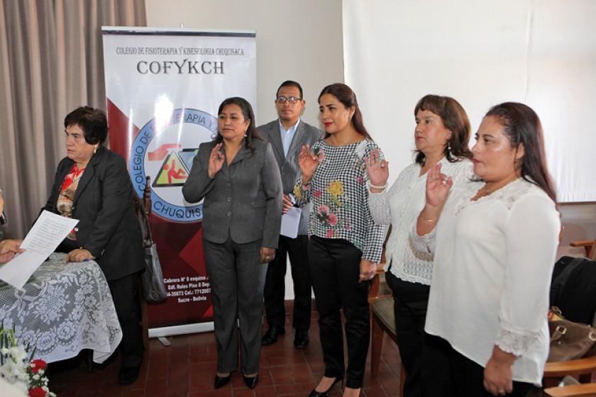 Nuevo Directorio Nacional: Lidia Lazcano (Presidente), Patricia Jaramillo, María Victoria Aguilar y Karina Coca.