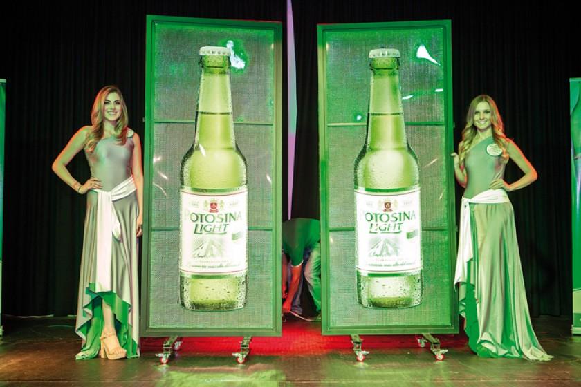 Presentación de la Cerveza Potosina Light.