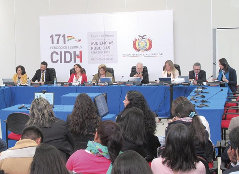 Audiencia. La CIDH abordó la crisis humanitaria de los niños venezolanos.