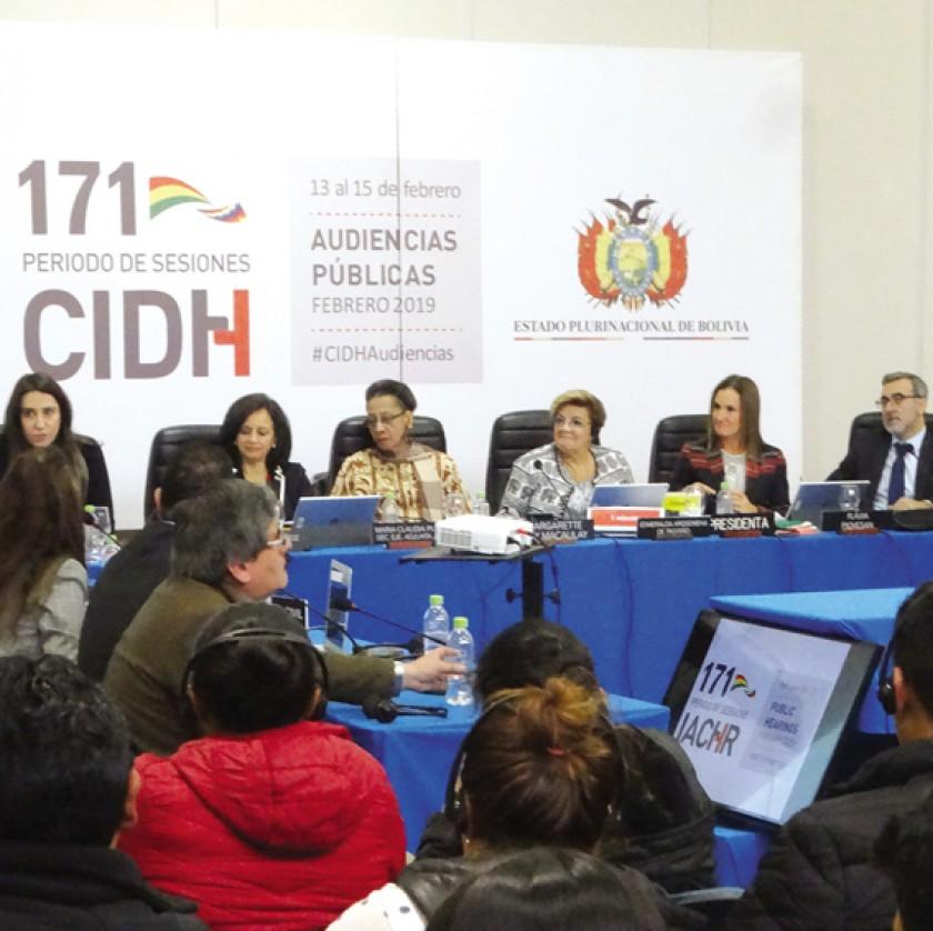 CIDH se despide de Sucre y destaca alta participación de la ciudadanía.