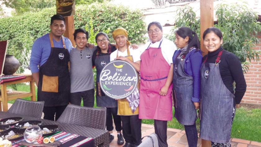 EQUIPO. Chefs profesionales del país.