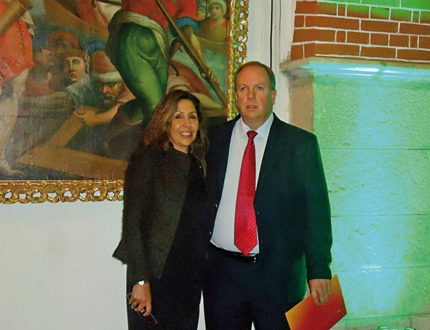 Cynthia Castellanos de Wille y Carlos Willer Bernardis