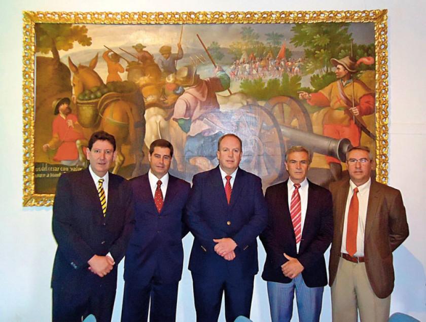 Juan Ramón Azurduy, Fernando Mercy, Carlos Wille, Ramiro Samso y Juan Pablo