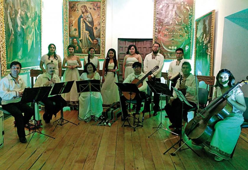 """Ensamble de Música Antigua """"Musicvm Unayay"""