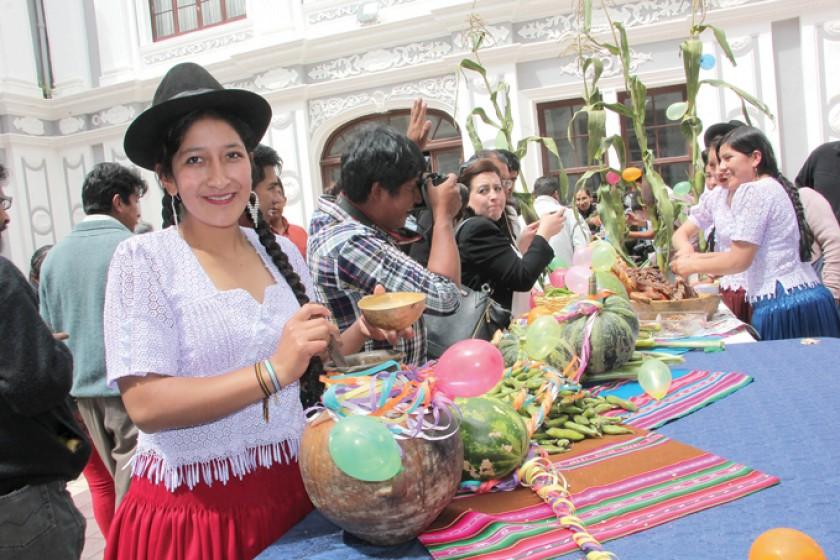 INVITACIÓN. Chicha, producción agrícola, parte del potencial de Incahuasi.