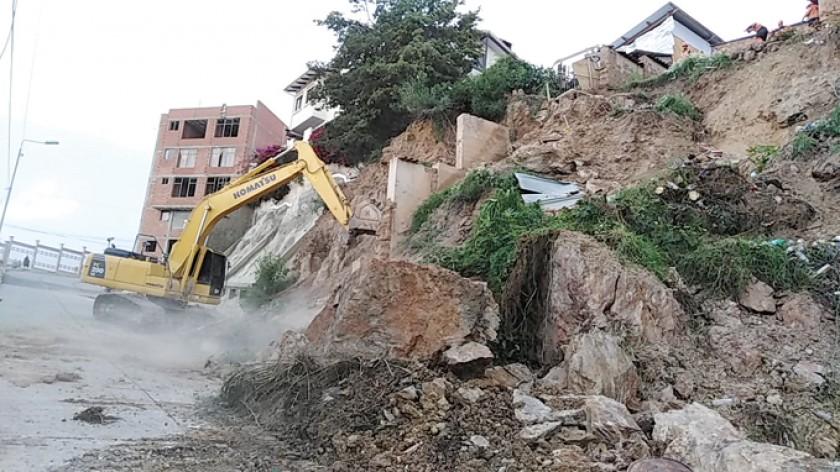 Chuquisaca se declara en estado de emergencia por las lluvias
