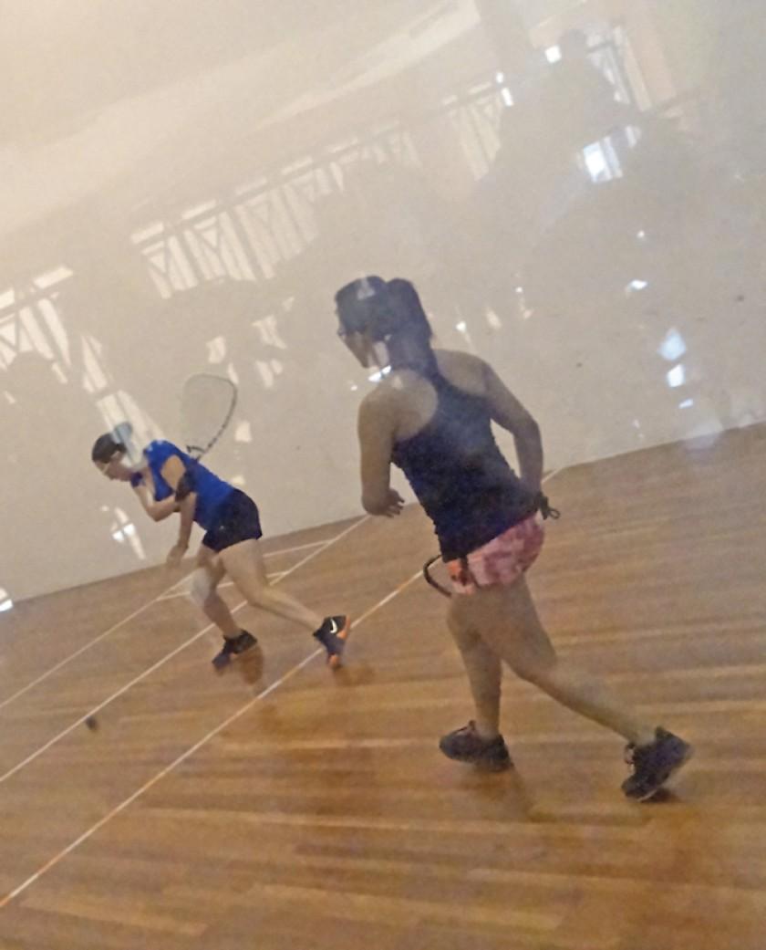 Ayer se puso en marcha el certamen nacional en el complejo de raquetbol del estadio Patria.