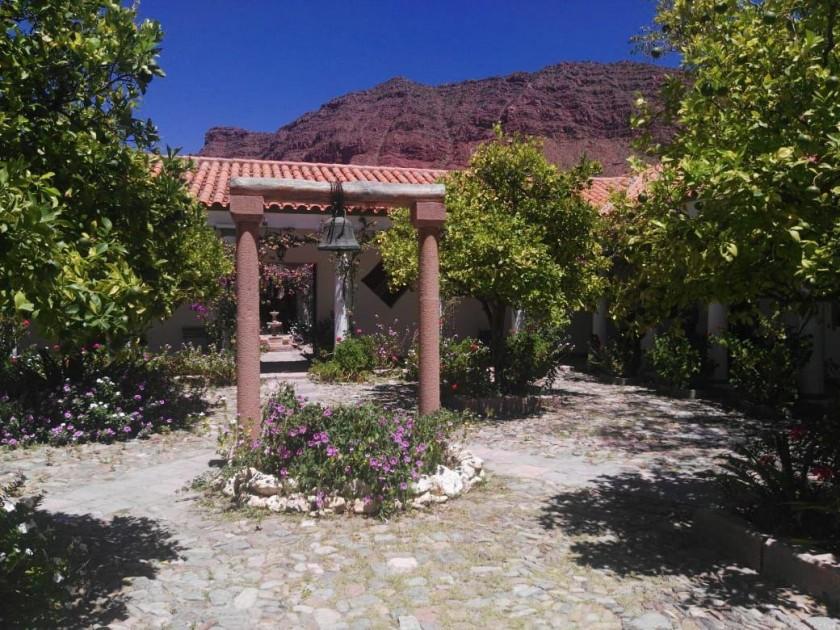 TRADICIÓN. La viña San Pedro se encuentra a pocos kilómetros de Camargo, en el valle de Cinti.