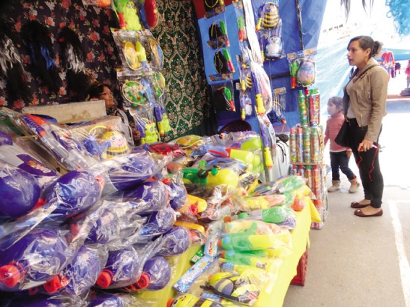OFERTA. La Feria del Carnaval en el parque Multipropósito.