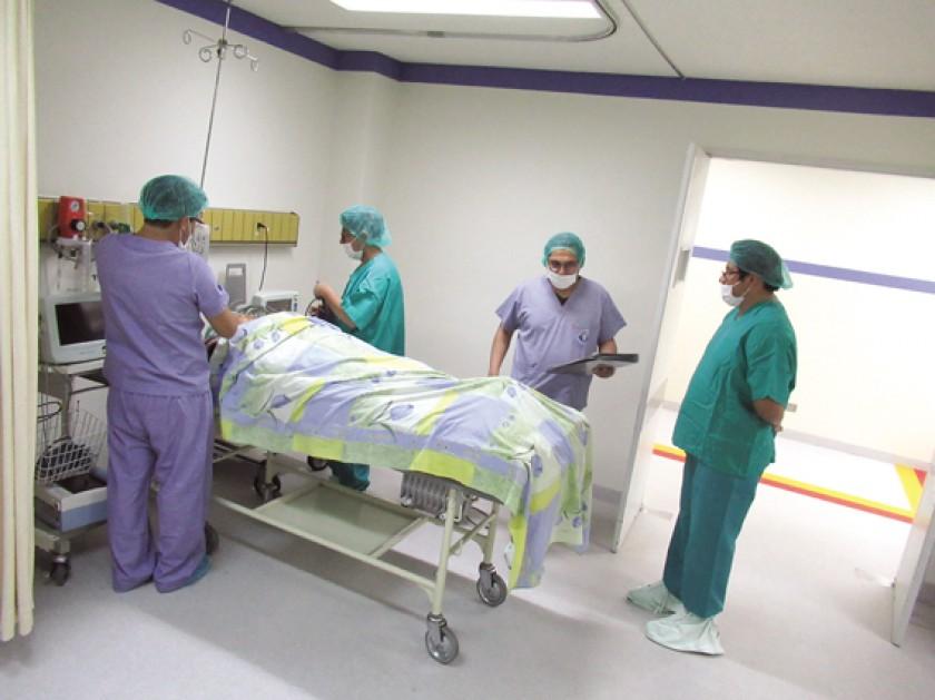 INFRAESTRUCTURA. Primera jornada del SUS en el Instituto de Gastroenterología Boliviano Japonés.