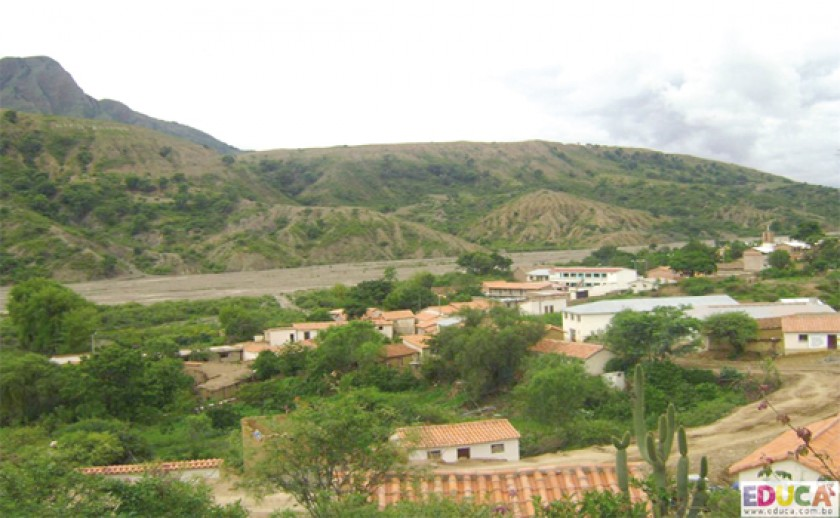 CONFLICTO. Centro poblado de Poroma.