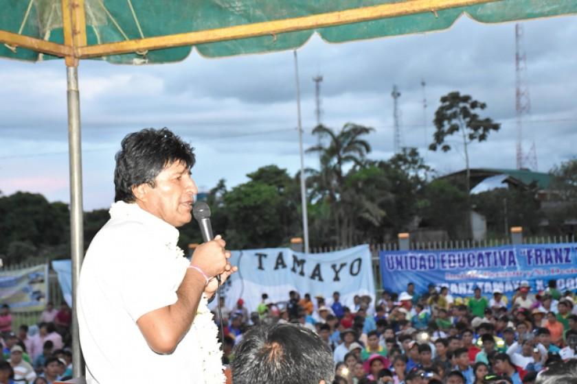 Movilización en el Chapare dará inicio a campaña electoral del MAS