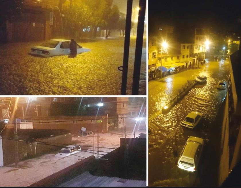 Arrastre de autos, inundaciones, desprendimiento de cables y apagones pusieron en apuros a decenas de vecinos anoche, tr