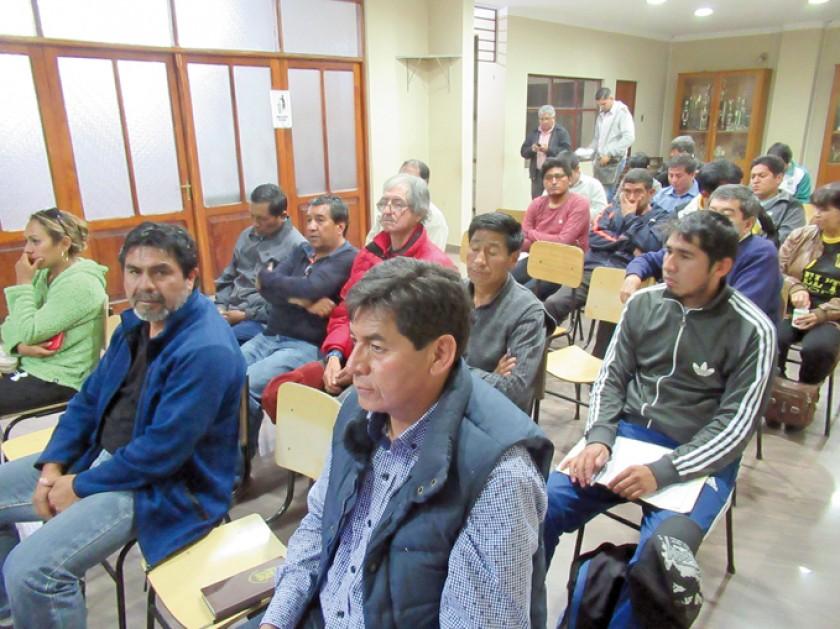 Los delegados de los clubes decidieron en su mayoria jugar el fin de semana en el municipio de Yotala.
