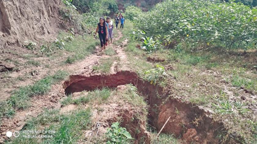 EL CHACO. La ayuda humanitaria no llegó a varias comunidades de Monteagudo.