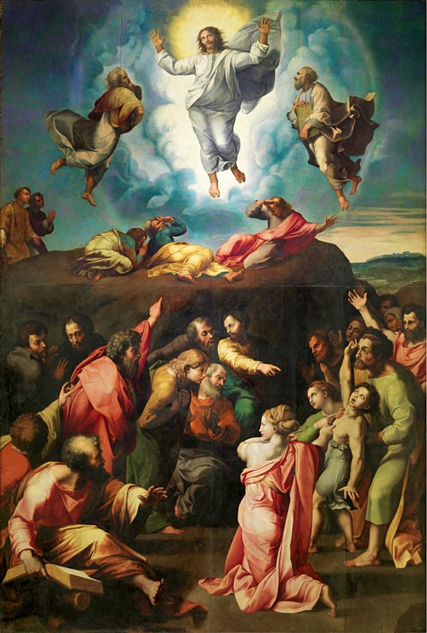 """Imagen de la obra copia de Rafael """"La Resurrección o Transfiguración del Señor"""", de Giovanni Franceso Penni. Foto cedida"""