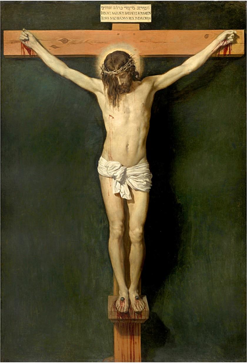 """""""Cristo crucificado"""", de Velázquez, obra que se expone en el Museo Nacional del Prado. Foto cedida por la institución"""