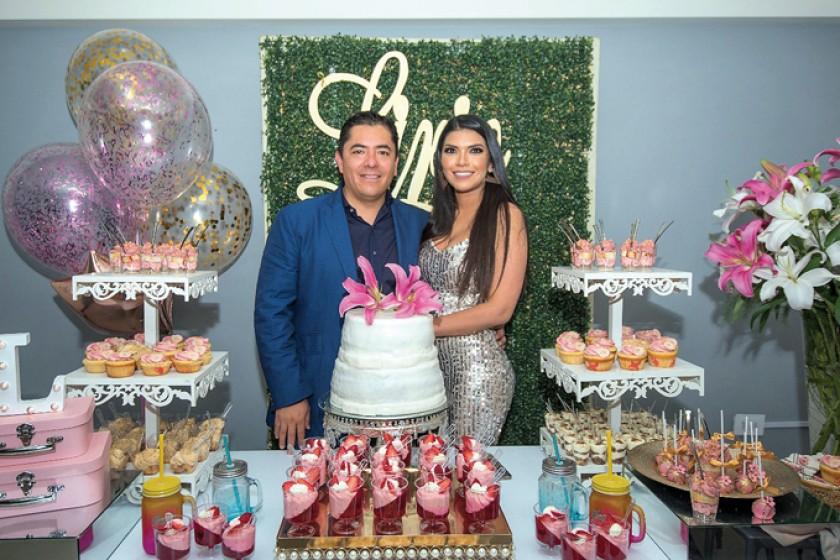 Ariel Coronado y Lirio Betancourt.